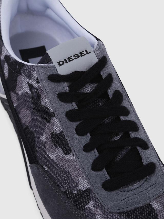 Diesel - S-KB LOW LACE, Gris/Noir - Baskets - Image 4