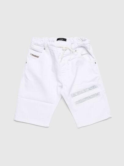 Diesel - KROOLEY-NE-J SH-T JJ, Blanc - Shorts - Image 1