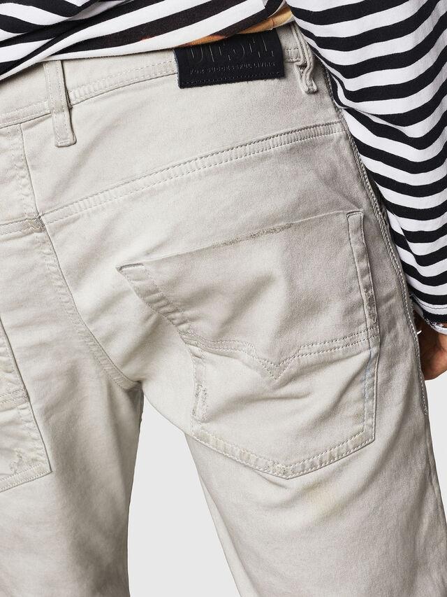 Diesel - Krooley JoggJeans 069GT, Gris Clair - Jeans - Image 6