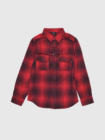 Diesel - CMILLERPATCH, Rouge - Chemises - Image 1
