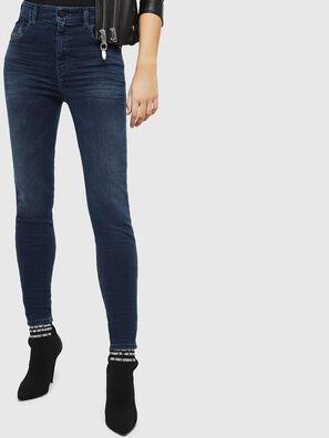 Slandy High 084UT, Bleu Foncé - Jeans