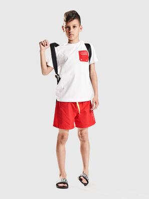 TBMOW, Blanc/Rouge - T-shirts et Hauts