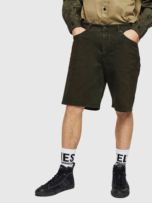 D-WILLOH, Vert Foncé - Shorts