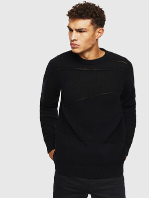 K-PATHY, Noir - Pull Maille