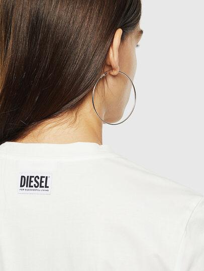 Diesel - T-SILY-YC, Blanc - T-Shirts - Image 3