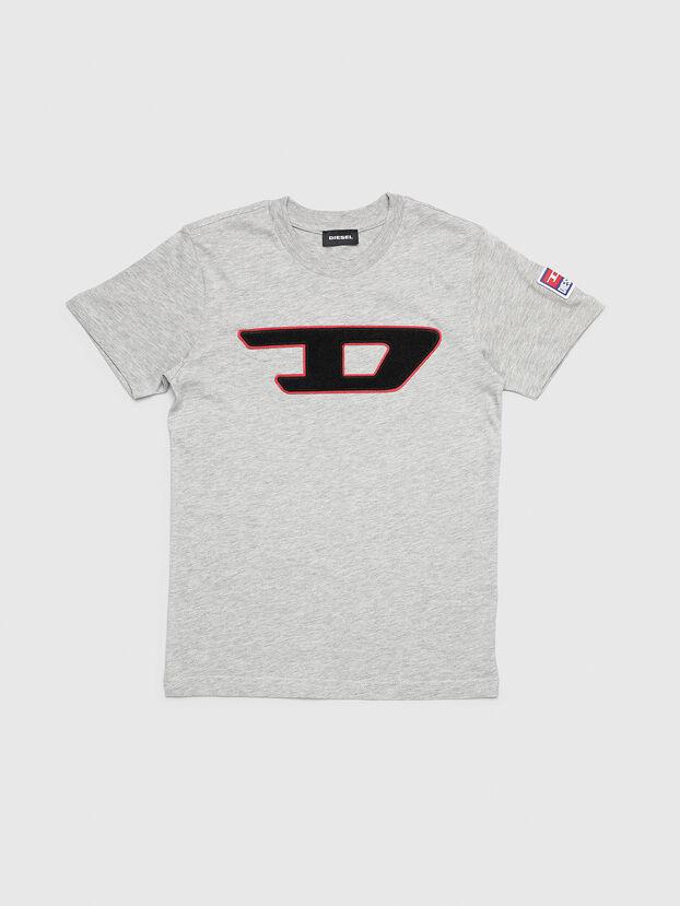 TJUSTDIVISION-D, Gris Clair - T-shirts et Hauts