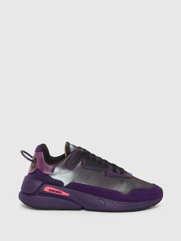 Sneakers en nylon irisé