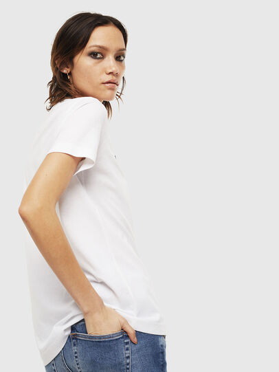 Diesel - T-SILY-S6, Blanc - T-Shirts - Image 2
