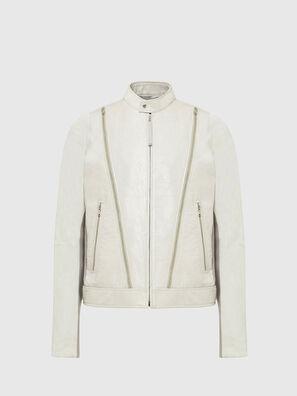L-CROME, Blanc - Vestes de cuir