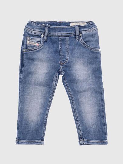 Diesel - KROOLEY-B-N JOGGJEANS, Bleu Clair - Jeans - Image 1