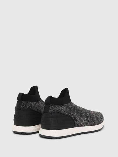 Diesel - SLIP ON 03 LOW SOCK, Noir - Footwear - Image 3