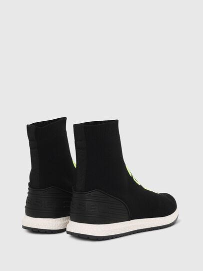 Diesel - SLIP ON 04 MID SOCK, Noir - Footwear - Image 3