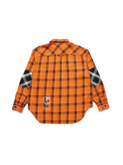 Diesel - D-ANORACHECK, Orange - Chemises - Image 2