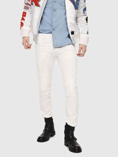 Diesel - Thommer JoggJeans 069DS, Blanc - Jeans - Image 1