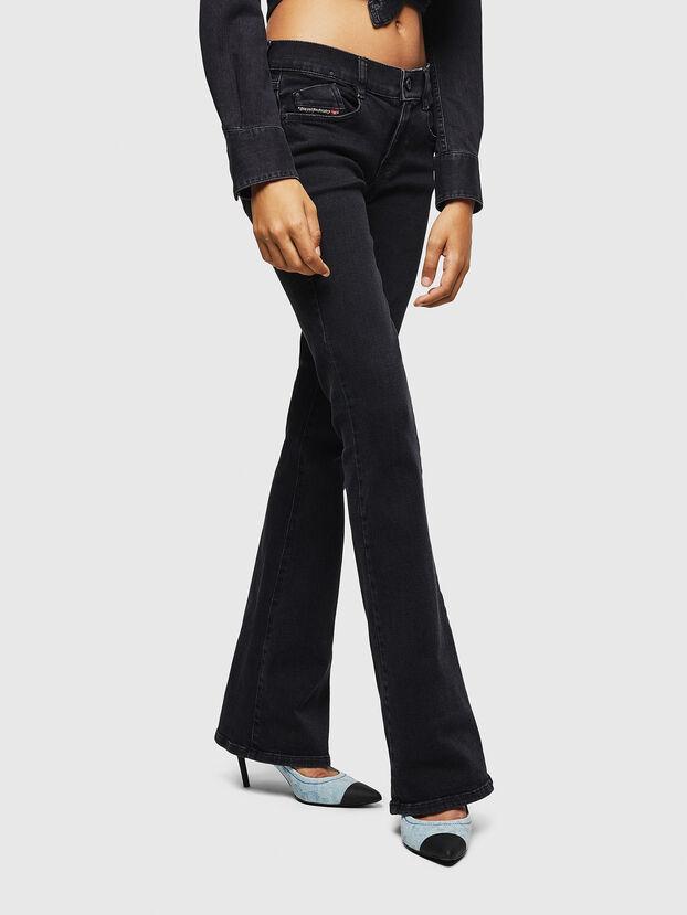 D-Ebbey 0870G, Noir/Gris foncé - Jeans