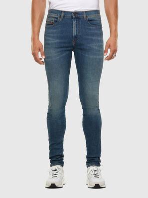 D-Istort 009HC, Bleu moyen - Jeans