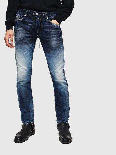 Diesel - Thommer JoggJeans 069KD, Bleu Foncé - Jeans - Image 1