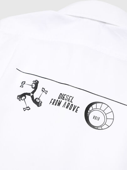 Diesel - CSVENPRINT, Blanc - Chemises - Image 3