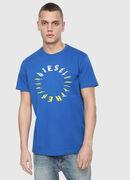 T-DIEGO-Y2, Bleu Brillant - T-Shirts