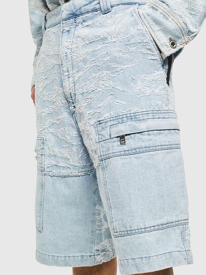 Diesel - D-LUK-SHORT, Bleu Clair - Shorts - Image 5