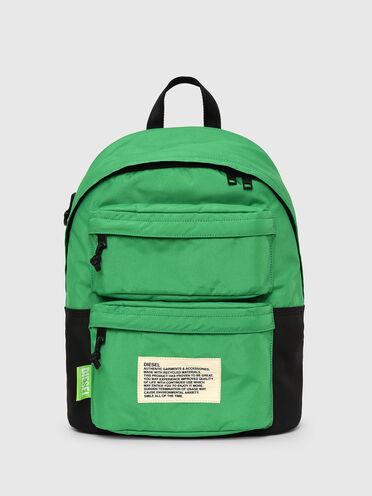 Sac à dos label vert color-block