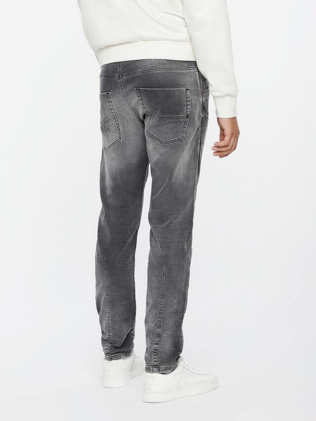 Diesel - Krooley JoggJeans 0855B, Gris Clair - Jeans - Image 2