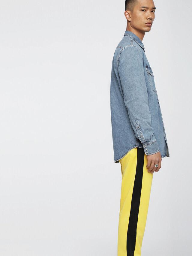 Diesel - D-ROOKE, Jean Bleu - Chemises en Denim - Image 3