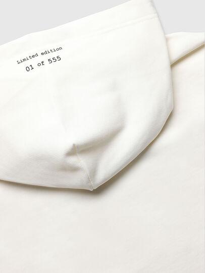 Diesel - VE-S-GIRK-HOOD-RIALT, Blanc - Pull Cotton - Image 4