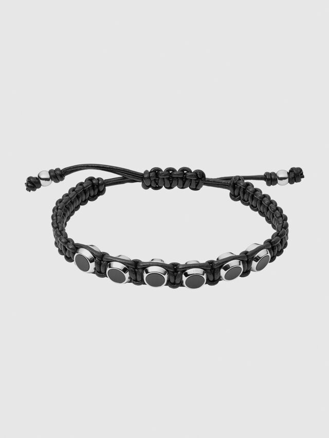 Diesel - BRACELET 1070, Noir - Bracelets - Image 1
