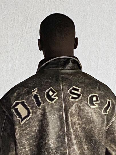 Diesel - DxD-2, Noir - Vestes de cuir - Image 6