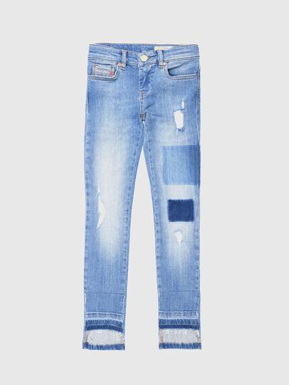 Diesel - SKINZEE-LOW-J-N, Bleu Clair - Jeans - Image 1