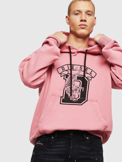 Diesel - S-ALBY-B8, Rose - Pull Cotton - Image 3