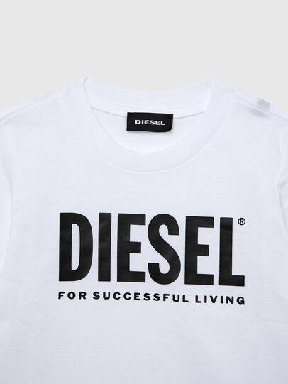 Diesel - TJUSTLOGOB ML-R, Blanc - T-shirts et Hauts - Image 3