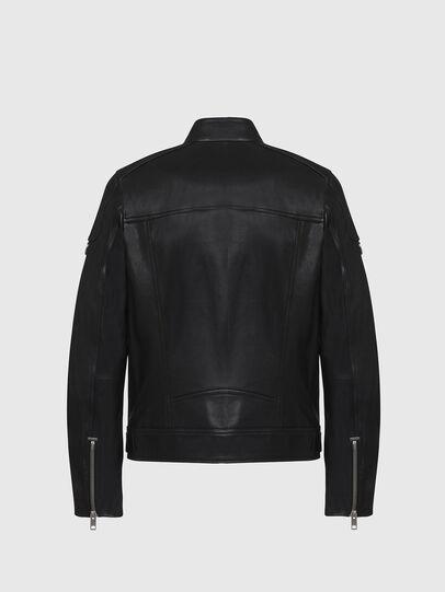 Diesel - L-CODY, Noir - Vestes de cuir - Image 2