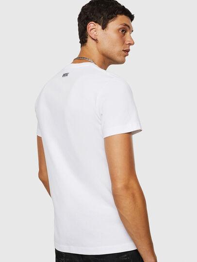 Diesel - T-DIEGO-B18, Blanc - T-Shirts - Image 2