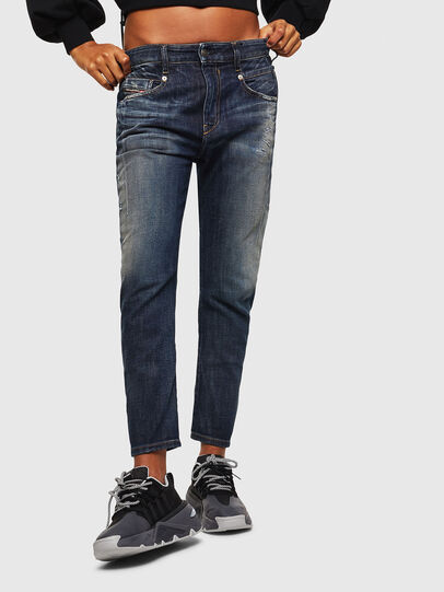 Diesel - Fayza 0096U, Bleu Foncé - Jeans - Image 1