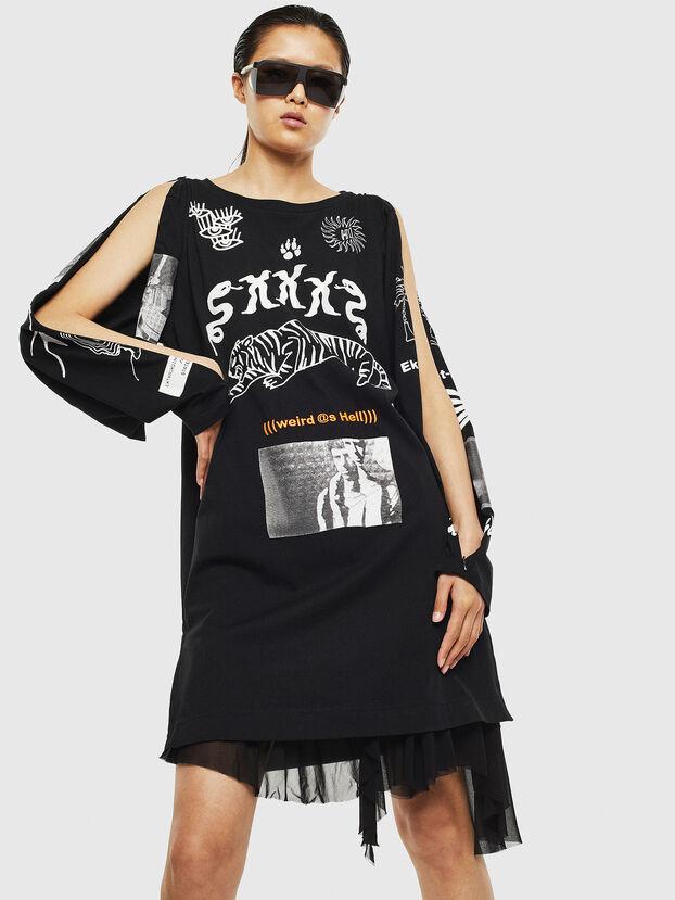 T-ROSY-A, Noir - T-Shirts