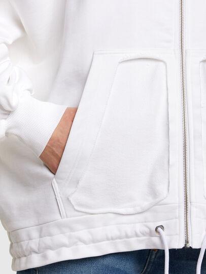 Diesel - F-BILLY-LOGO, Blanc - Pull Cotton - Image 5