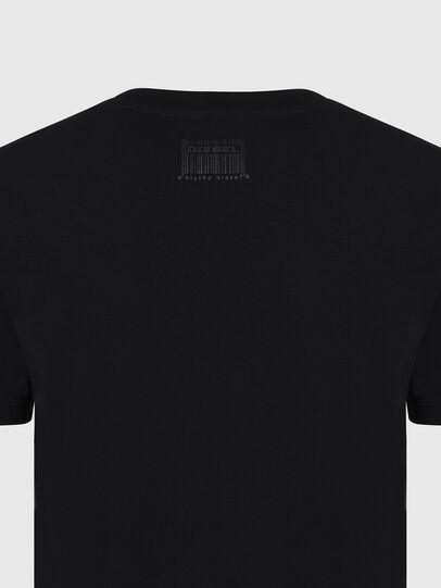 Diesel - T-SILY-E56, Noir - T-Shirts - Image 3