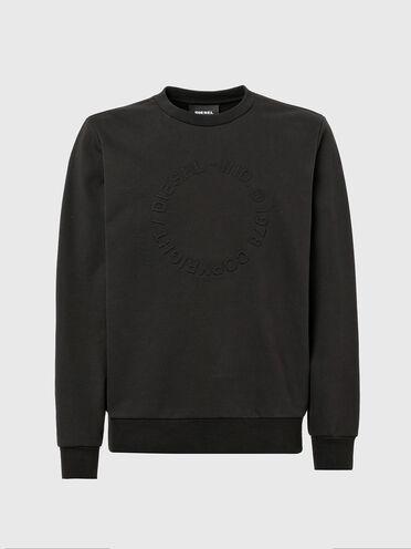 Sweat-shirt avec logo Copyright embossé
