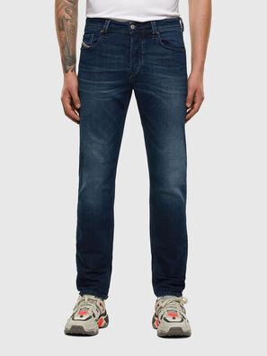 Larkee-Beex 009ER, Bleu Foncé - Jeans