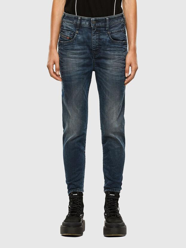 Fayza JoggJeans 069PD, Bleu Foncé - Jeans
