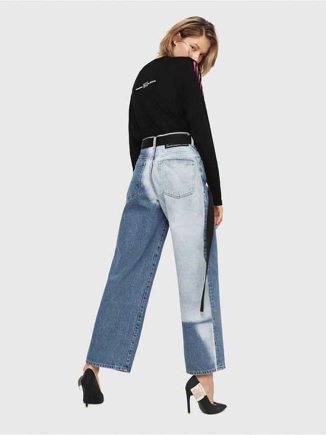 Diesel - Widee 0077V, Bleu moyen - Jeans - Image 6