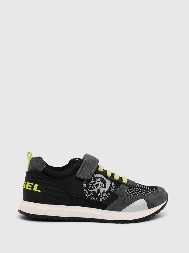 SN RUNNER 01 LC CH, Noir/Gris - Footwear