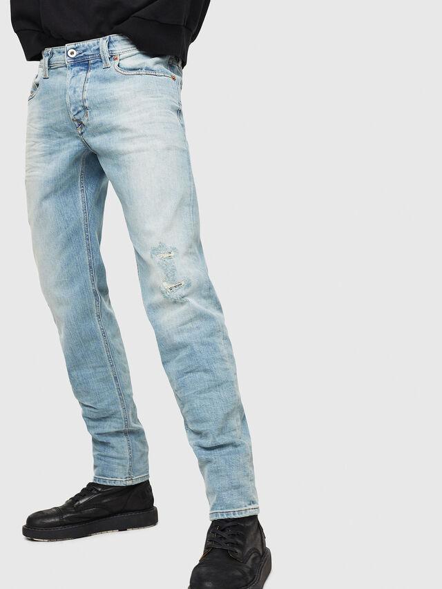 Diesel - Larkee-Beex 087AX, Bleu Clair - Jeans - Image 1