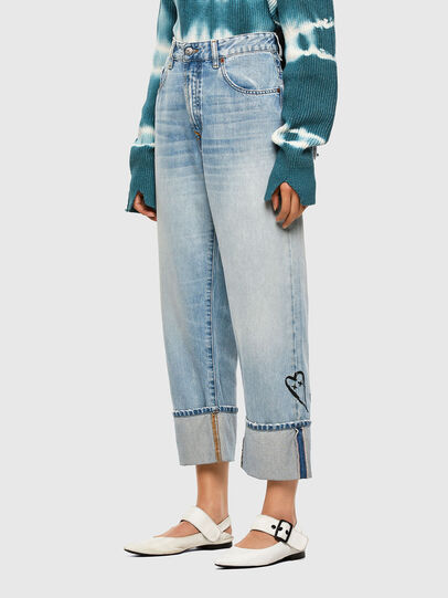 Diesel - D-Reggy 009GZ, Bleu Clair - Jeans - Image 7