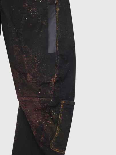 Diesel - TYPE-2018-NE, Noir/Gris foncé - Jeans - Image 5