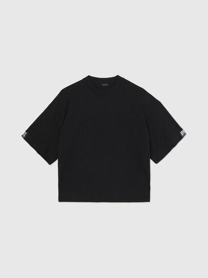 Diesel - UFTEE-SHORTEE, Noir - T-Shirts - Image 1