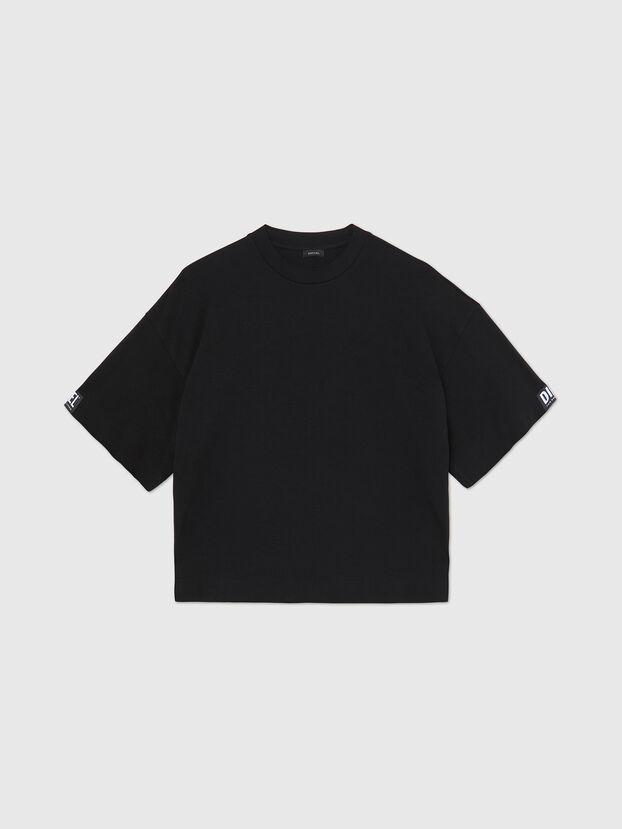 UFTEE-SHORTEE, Noir - T-Shirts