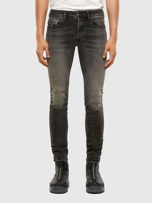 Sleenker 009JF, Noir/Gris foncé - Jeans